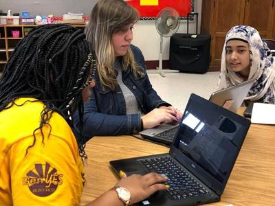 Student 'geek squads' maintain school devices, help teachers