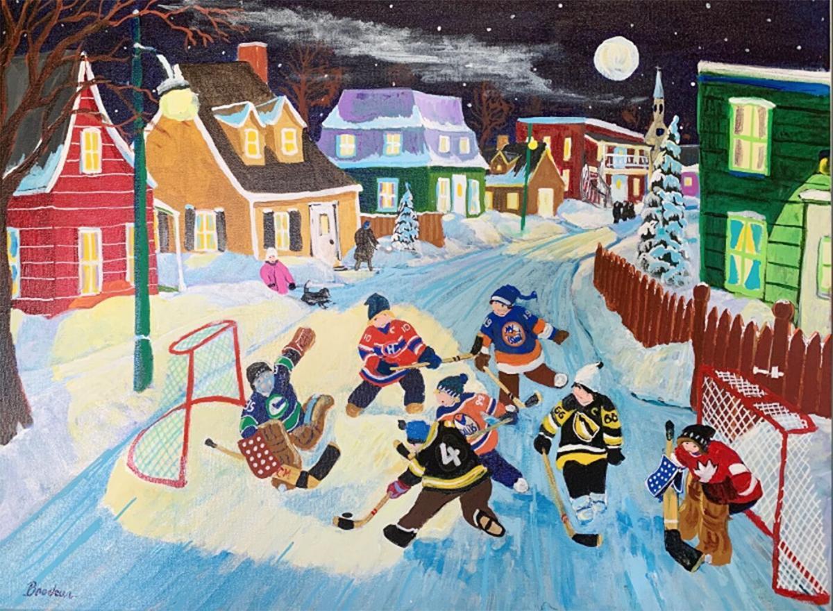 Childhood Hockey Memoires