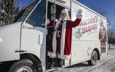 Santa on wheels: St. Nick gets new open-air ride as pandemic drags into holidays