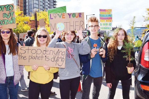 Kelowna climate strike