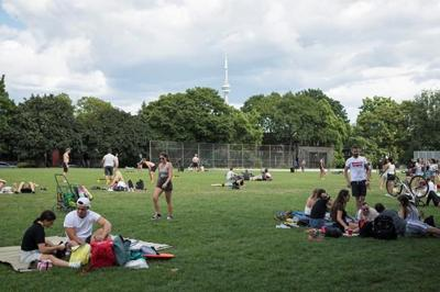 Toronto parks a social destination for millennials and ideal stop for tourists
