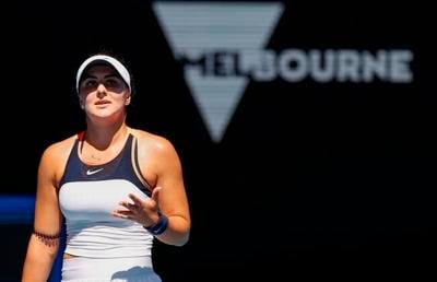 Canadian tennis star BIanca Andreescu pulls out of Adelaide event with leg injury