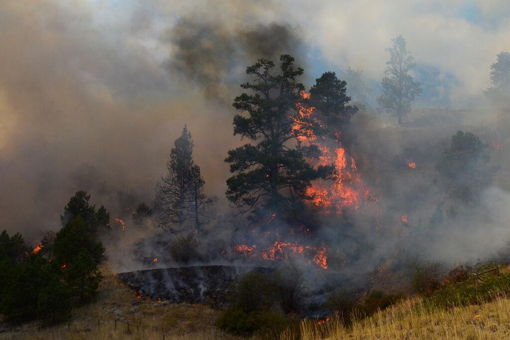 Kal Lake fire 2