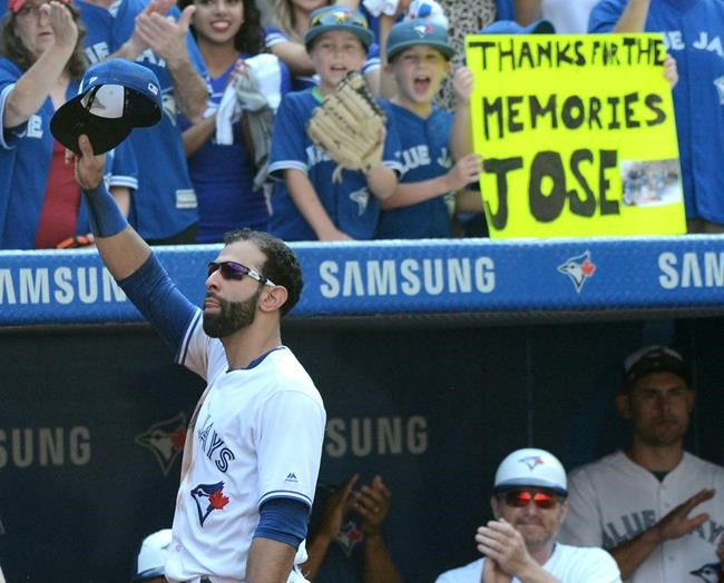 Bautista helps Blue Jays beat Yankees 9-5 in final game in Toronto