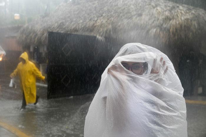 Dramatic photos, videos of Hurricane Maria's wrath in Puerto Rico