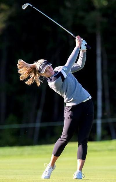 Quebec City's Anne-Catherine Tanguay comes out flying at CP Women's Open