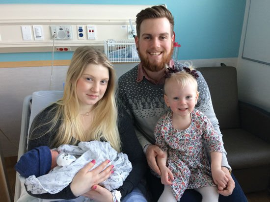 Kelowna New Year S Baby A 2nd Child For Young Parents News Kelownadailycourier Ca