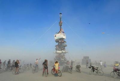 Experts: Burning Man playa dust not serious health concern