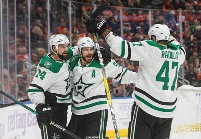 Benn scores overtime winner as Stars take 5-4 victory over Oilers
