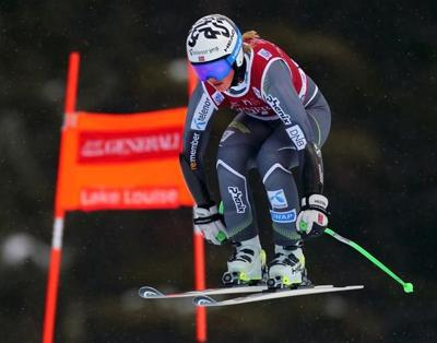 Vickhoff Lie, McKennis tie for fastest training time at Lake Louise
