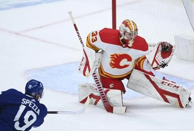David Rittich makes 34 saves, Flames blank Maple Leafs 3-0 for much-needed win