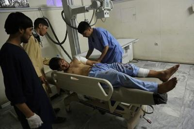 Dozens dead or hurt in wedding party blast in Afghan capital