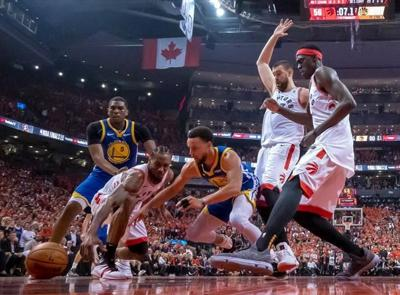 Raptors look to regroup after eerie Game 5; Take 3-2 lead to Oakland