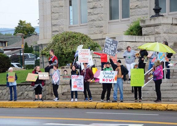 Vernon climate strike