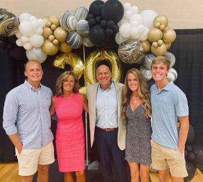 Living Hope celebrates pastor's 20-year tenure