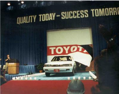 10 millionth Camry rolls off line at Georgetown