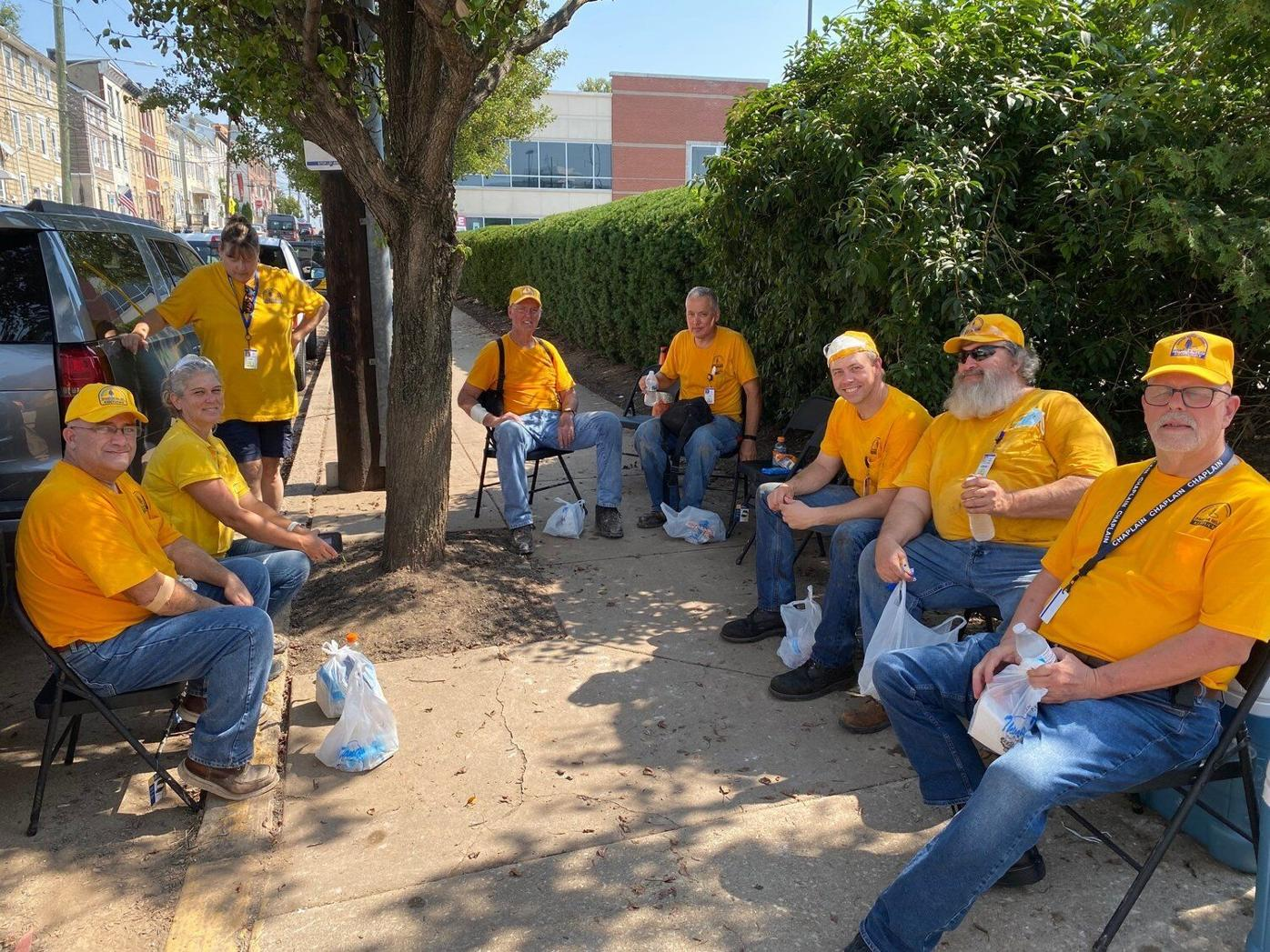 Kentucky Disaster Relief workers shine like gold in Philadelphia