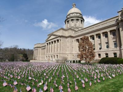 Flags at half-staff Friday to honor victims lost to COVID