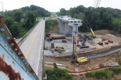 Construction of western Ky. span ahead of schedule