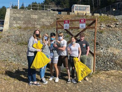 Kayhi litter cleanup