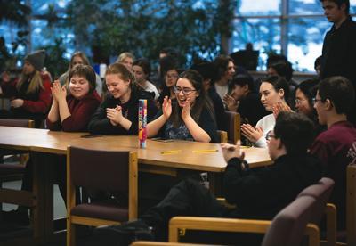 2020 Alaska Academic Decathlon awards ceremony