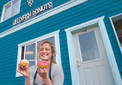 Jellyfish Donuts opens with a splash, near downtown