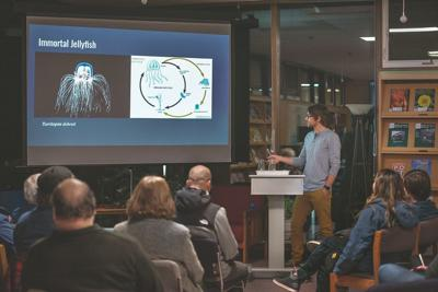 'Science of immortality' lecture presented at UAS Ketchikan