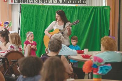 Homeschoolers share their talents: FastTrack talent show held at the Ketchikan Pioneer Home