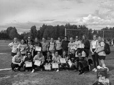 Ketchikan High School softball team