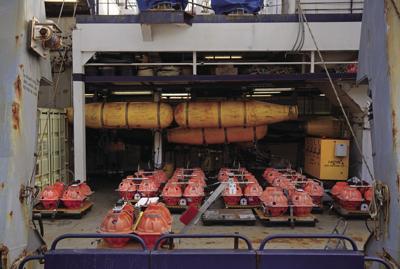 Seismic recording equipment