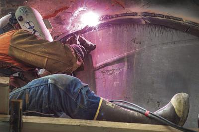 Ward cove welding