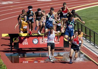 Isaac Updike, 3,000-meter steeplechase