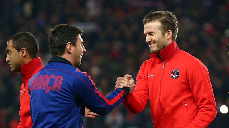 Acuerdo Messi y Beckham