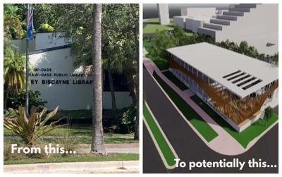 Key Biscayne library