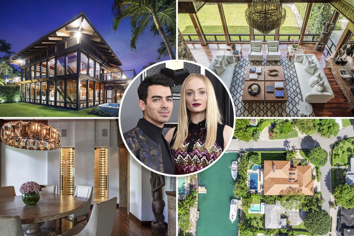 Joe Jonas house Miami