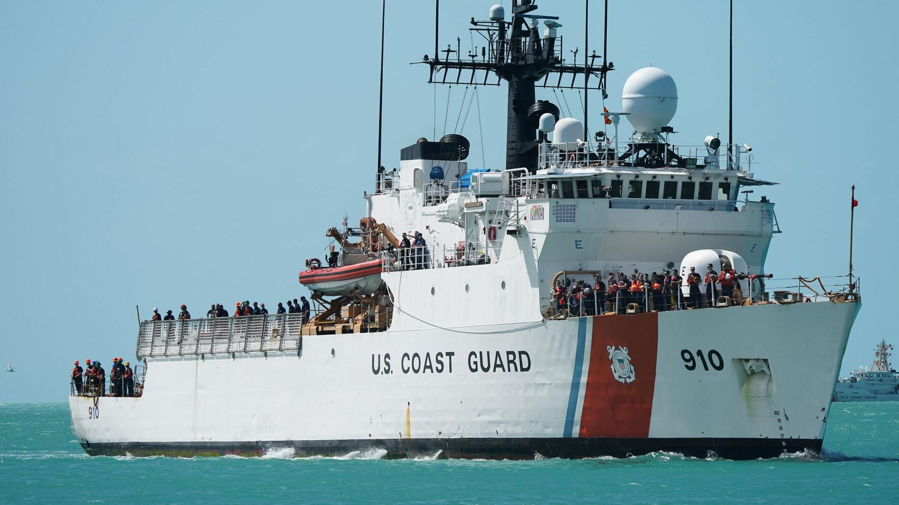 Thetis returns to Key West after active mission