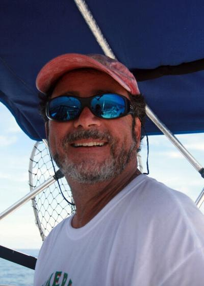 Geotis at the helm