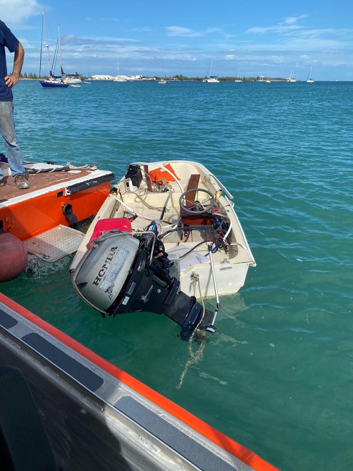 coast guard boat wreck