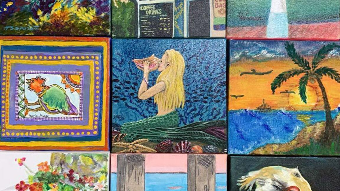 Traveling mosaic on display in Upper Keys