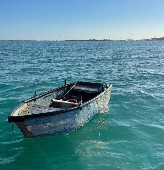coast guard cuban boat