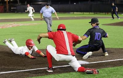 Cougars hold off then rally to sweep Conchs