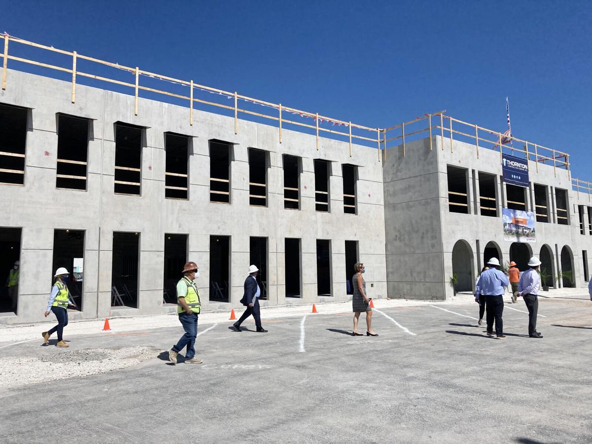New CFK campus building