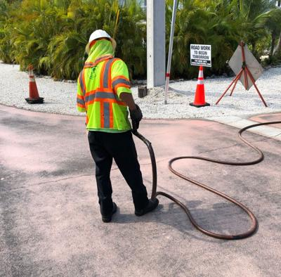 County starts roads project