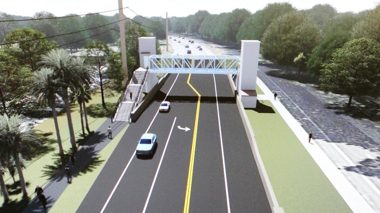 State pulls plug on pedestrian bridge