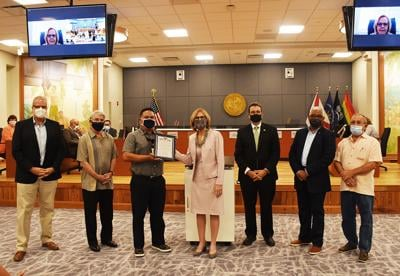 Transit workers honored