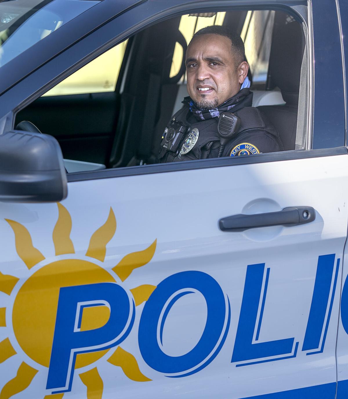 Familiar Faces Leo Hernandez in car
