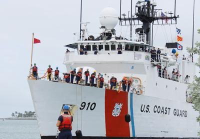U.S. Coast Guard Cutter Thetis intercepts $80M drugs