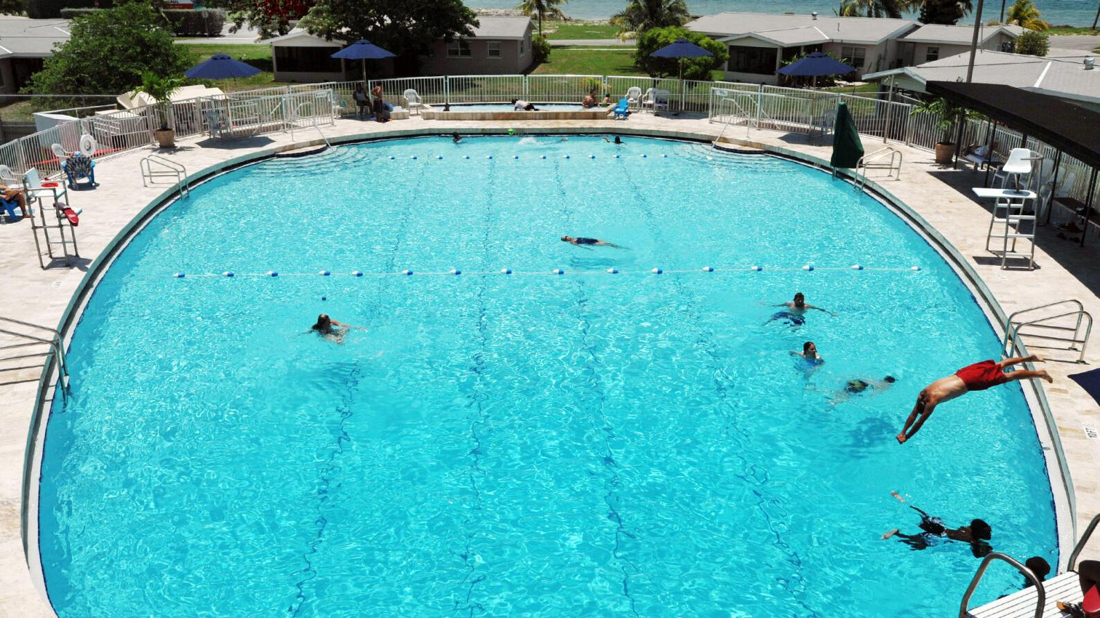 Bahama Village community pool is treading water