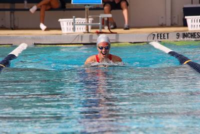 Isabella Johnson breaststroke