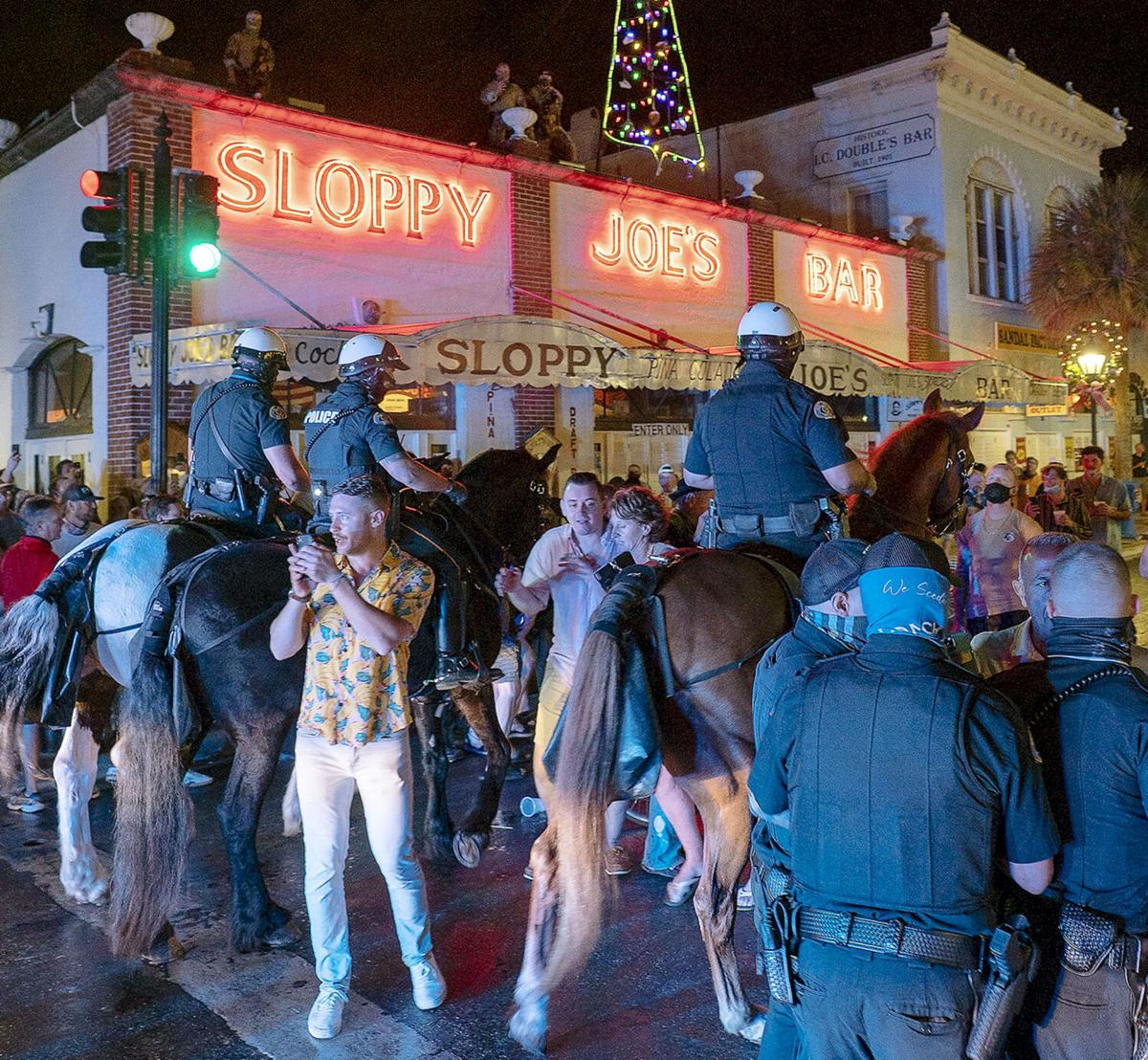 Protesters fail in fight against Key West holiday curfew horse 2